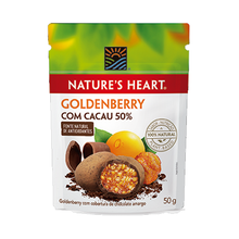 Snack Nature's Heart Cacau/Goldenberry 50g