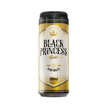 Cerveja Black Princess Gold Puro Malte Lata 350ml